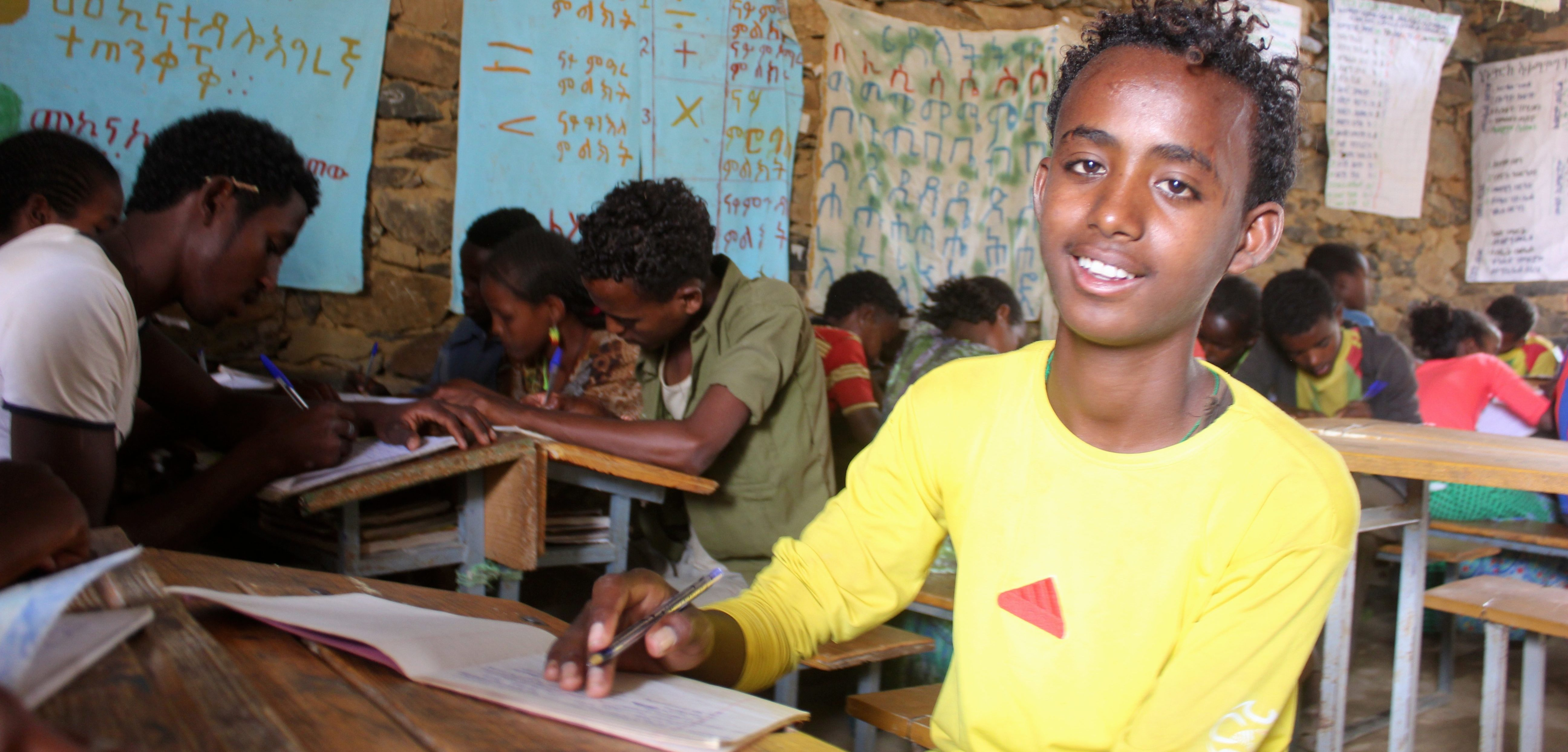 A daily school routine in Ethiopia